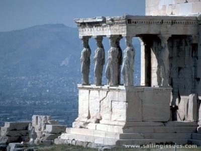 Между небом и землёй... Созерцая город сверху:  Акрополь и Музей Акрополя