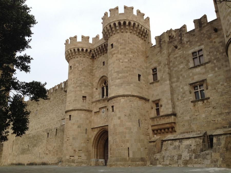 Старый город Родос - Средневековая сага .