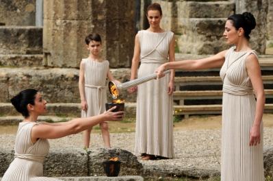 Древняя Олимпия. Свет Олимпийского огня!